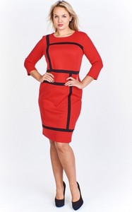 29d5d83e7b sukienki wizytowe rozmiar 48 50 - stylowo i modnie z Allani