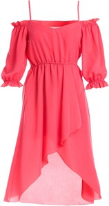 Sukienka Multu z długim rękawem asymetryczna