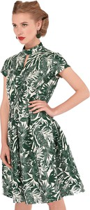 874b737613 Sukienka Closet rozkloszowana z krótkim rękawem z dekoltem typu choker
