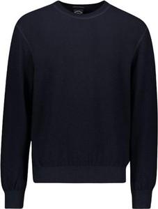 Niebieski sweter Paul & Shark w stylu casual
