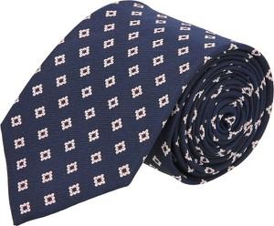 Granatowy krawat recman