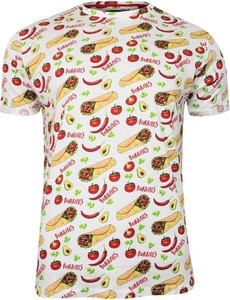 T-shirt Brave Soul z tkaniny