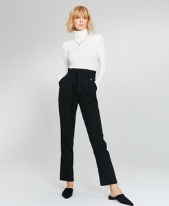 7575712a2c85f1 hm spodnie z wysokim stanem. Spodnie FEMESTAGE Eva Minge