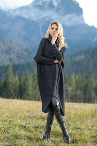 Sweter Fobya z wełny w stylu casual