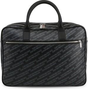 Czarna torebka Emporio Armani ze skóry