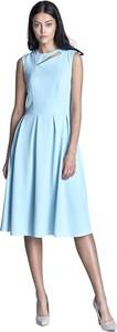 Sukienka Nife bez rękawów midi