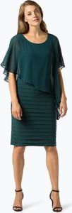 Zielona sukienka Ambiance midi z szyfonu