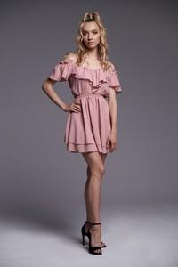 Sukienka Ella Boutique z krótkim rękawem mini