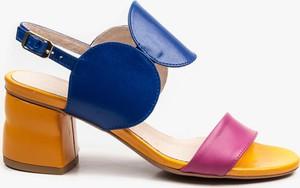 1ffed4ab sandały na obcasie kolorowe - stylowo i modnie z Allani