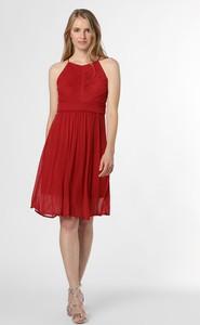 Czerwona sukienka Marie Lund midi