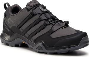 Czarne buty trekkingowe eobuwie.pl z goretexu