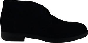 Czarne buty zimowe Marechiaro 1962