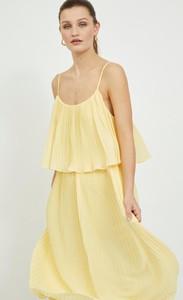 Sukienka Vila na ramiączkach mini w stylu casual