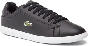 Lacoste Sneakersy Graduate Bl 1 SMA 7-37SMA0053312 Czarny