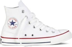 Trampki Converse z płaską podeszwą wysokie sznurowane