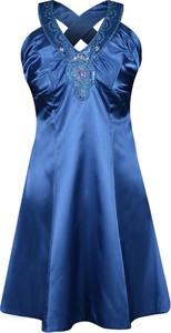 Sukienka Fokus bez rękawów rozkloszowana