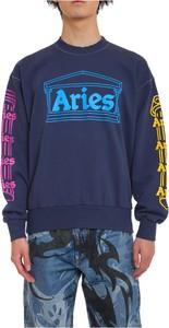 Niebieska bluza Aries w młodzieżowym stylu