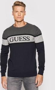 Sweter Guess z okrągłym dekoltem
