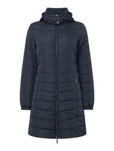 Granatowy płaszcz Armani Exchange w stylu casual