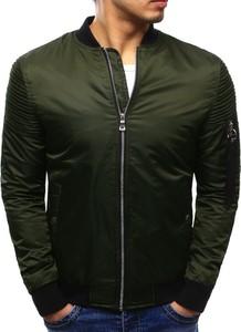 Dstreet kurtka męska bomber jacket zielona (tx2067)