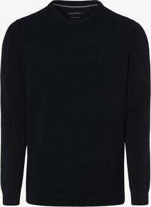 Czarny sweter Marc O'Polo z bawełny