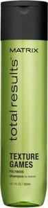MATRIX TOTAL RESULTS Texture Games szampon nadający włosom tekstury 300ml