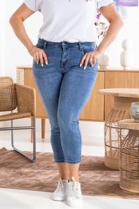Niebieskie jeansy KARKO w stylu casual