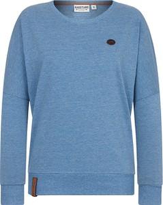 Niebieska bluza Naketano z dresówki