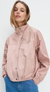 Różowa kurtka Mohito w stylu casual krótka