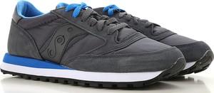 Czarne buty sportowe Saucony ze skóry