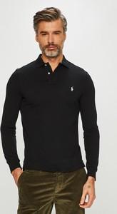 Czarna koszulka z długim rękawem POLO RALPH LAUREN