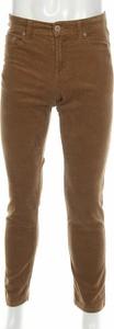 Brązowe spodnie CANDA ze sztruksu