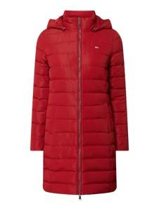 Czerwony płaszcz Tommy Jeans
