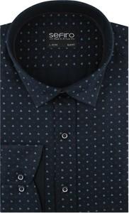Koszula Sefiro w młodzieżowym stylu z długim rękawem z tkaniny