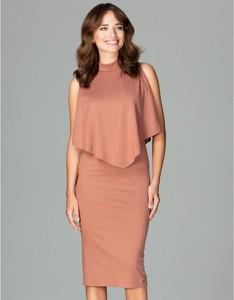 Różowa sukienka LENITIF
