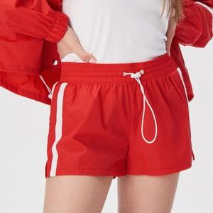 Czerwone szorty Sinsay w stylu casual
