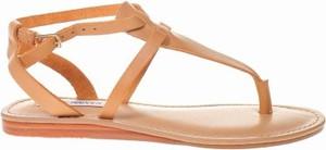 Sandały Steve Madden w stylu casual ze skóry z płaską podeszwą