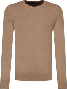 Brązowy sweter Tommy Hilfiger z kaszmiru