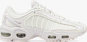 Buty sportowe Nike ze skóry sznurowane z płaską podeszwą