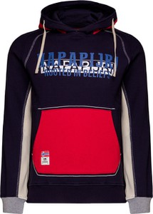Granatowa bluza Napapijri w sportowym stylu