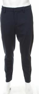 Granatowe spodnie Dondup