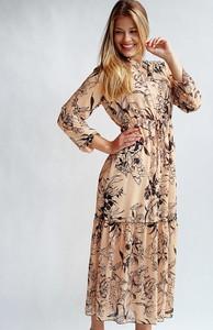 Sukienka Endoftheday maxi z dekoltem w kształcie litery v