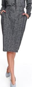 Spódnica Top Secret w stylu casual midi z dzianiny