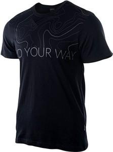 T-shirt Hi-Tec z krótkim rękawem w młodzieżowym stylu