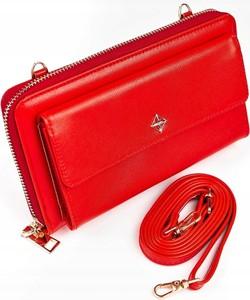 Czerwony portfel Milano Design