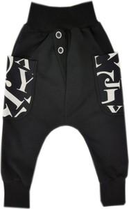 Czarne spodnie dziecięce Bexa