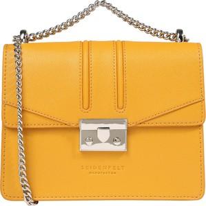 Żółta torebka Seidenfelt Manufaktur ze skóry