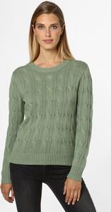 Zielony sweter Marie Lund z bawełny
