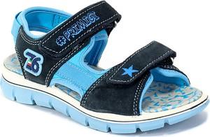 Niebieskie buty dziecięce letnie Primigi