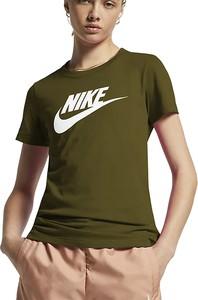 Bluzka Nike z krótkim rękawem w sportowym stylu
